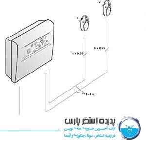کنترل پنل سونای خشک